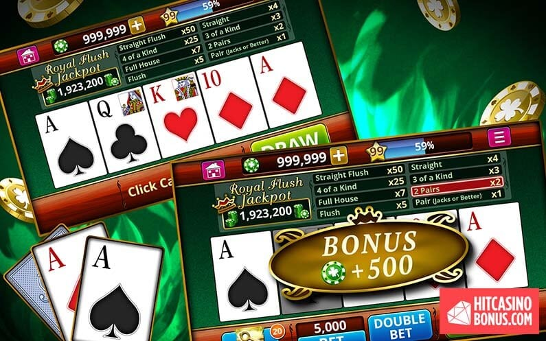 Strategies for Winning at Video Poker
