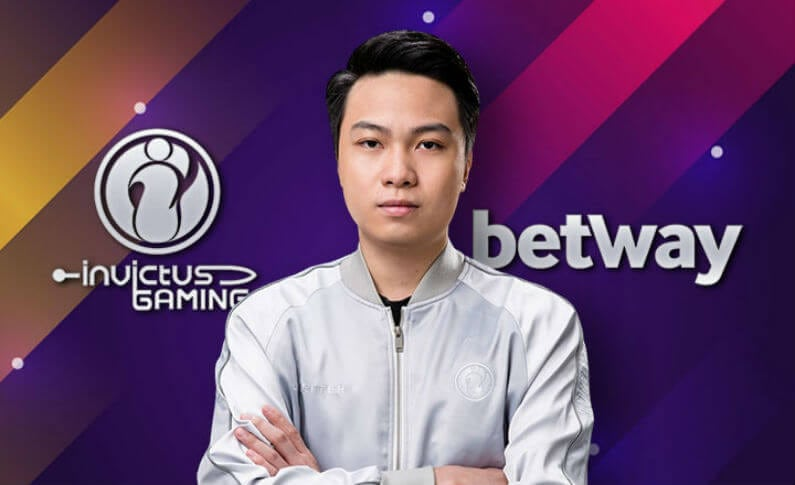 Betway Plus Invictus Gaming Equals a Historic Deal for eSports Betting