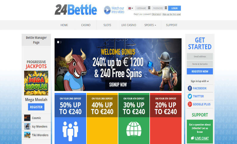 Exciting Promotions to Get Started at 24Bettle Casino